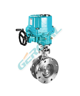 Electric switch butterfly valve