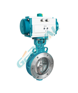 Soft Seal Eccentric Butterfly Valve